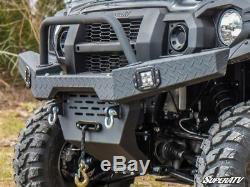 SuperATV Heavy Duty Front Bumper for Kawasaki Mule Pro FXT / FX / DX / DXT / FXR