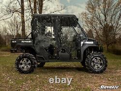 SuperATV Heavy Duty Nerf Bars for Kawasaki Mule Pro-FXT