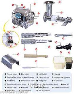 Super Angel Pro Stainless Steel Juicer, Heavy Duty Juice Extractor