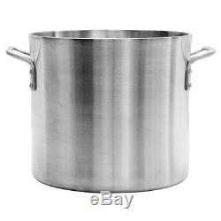 Thunder Group Professional Cookware, 100 Qt Aluminum Stock Pot, 6Mm Heavy Duty