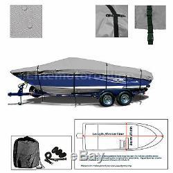 Tracker Pro Team 175 TXW Trailerable Heavy Duty Fishing Bass Boat Storage Cover