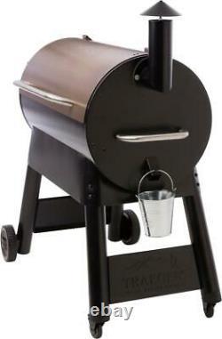 Traeger Pro 34 Wood Pellet Grill Heavy Duty Steel Barbecue Smoker 884 sq. Inch