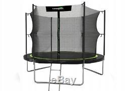 Trampoline 12ft 2in1 Safety Net Ladder Spring Rain Cover Tool 366cm HEAVY DUTY