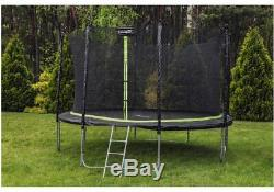 Trampoline 14FT Premium 2in1 Safety Net Ladder Spring Cover Tool 426c HEAVY DUTY