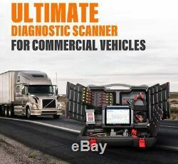 USA Autel MS908CV Heavy Duty Scanner Commercial Vehicle Diesel Truck DPF Diesel