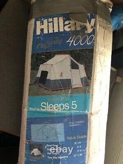 Vintage hillary pro series 4000 tent