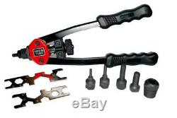 Yato professional heavy duty hand nut riveter M5-M12 in handy case (YT-3612)