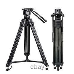 ZOMEI Professional VT666 Heavy Duty Camcorder Tripod Camera Tripod Fluid Head