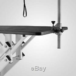 Z-lift Hydraulic Dog Cat Pet Grooming Table Heavy Duty withNoose Professional