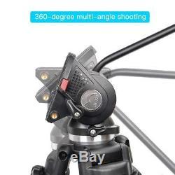 Zomei Professional 74 Inch Aluminum Video Tripod Heavy Duty for Camera Camcorder